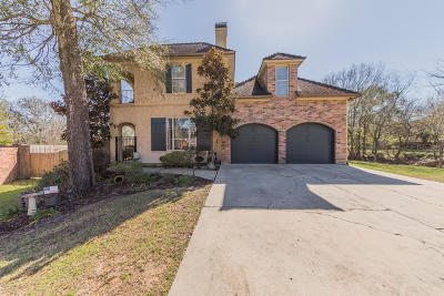 Lafayette Single Family Home For Sale: 103 Joshua Circle