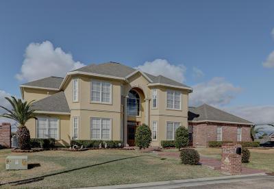 New Iberia Single Family Home For Sale: 2513 Palmland Boulevard