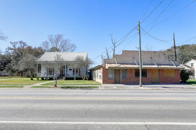 Iberia Parish Commercial For Sale: 303 & 305 N Main Street