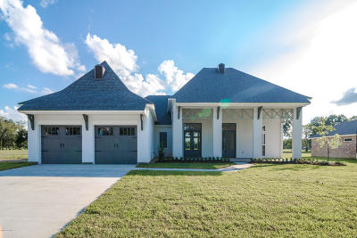 Carencro Single Family Home For Sale: 106 Waterhouse Road