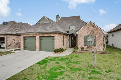Broussard Single Family Home For Sale: 603 Channel Drive