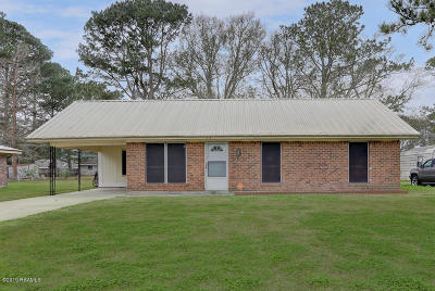 Iberia Parish Single Family Home For Sale: 316 Bayard Street