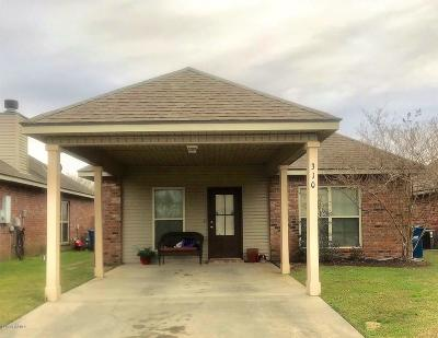 Lafayette  Single Family Home For Sale: 310 Common Pointes Drive