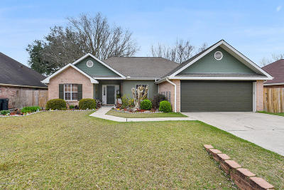 broussard Single Family Home For Sale: 207 Sundown Drive