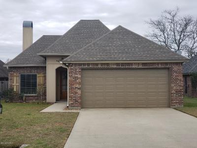 Lafayette  Single Family Home For Sale: 207 Blackwater River Drive