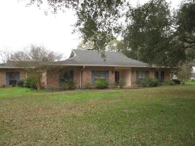 Ville Platte Single Family Home For Sale: 2459 Vidrine Road