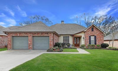 Lafayette Single Family Home For Sale: 405 Bon Temps Drive