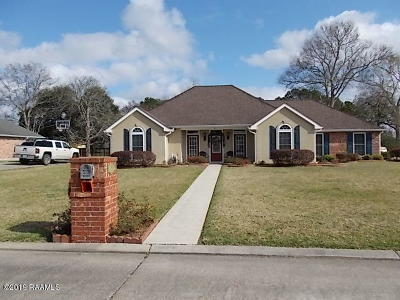 New Iberia Single Family Home For Sale: 424 Oak Manor Drive