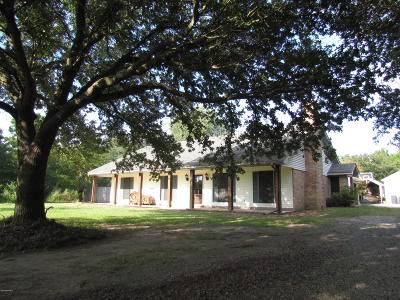 St Martinville, Breaux Bridge, Opelousas Single Family Home For Sale: 976 Prairie Ronde