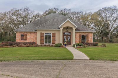 Iberia Parish Single Family Home For Sale: 300 Steeple Chase