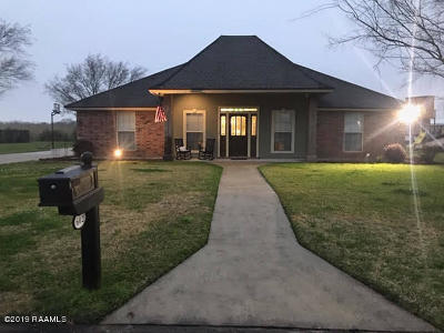 Iberia Parish Single Family Home For Sale: 602 Quence Drive