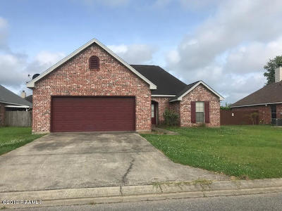 broussard Single Family Home For Sale: 117 Fawn Lane