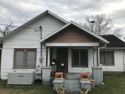 Vermilion Parish Single Family Home For Sale: 208 E 2nd Street