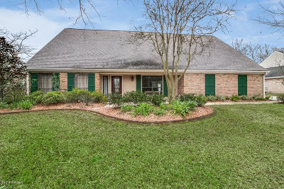 Lafayette  Single Family Home For Sale: 214 Old Settlement Road