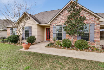 Carencro  Single Family Home For Sale: 200 Ennis Drive