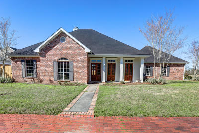 Lafayette Single Family Home For Sale: 100 Rustburg Drive