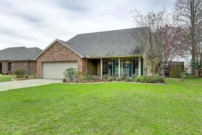 New Iberia Single Family Home For Sale: 734 Hummingbird Lane