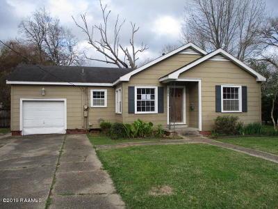 New Iberia Single Family Home For Sale: 205 E Lawrence Street