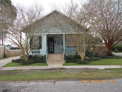 St Martinville, Breaux Bridge, Abbeville Single Family Home For Sale: 211 S Guegnon Street