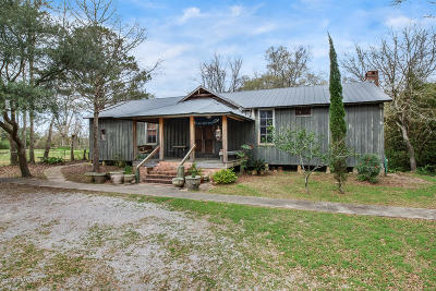 St Martinville, Breaux Bridge, Opelousas Single Family Home For Sale: 1419 E Prudhomme Street