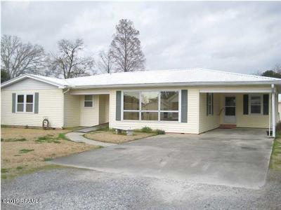 Jeanerette Single Family Home For Sale: 2718 Junca
