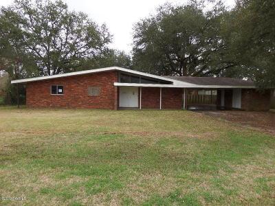 Jeanerette Single Family Home For Sale: 512 Katherine Street