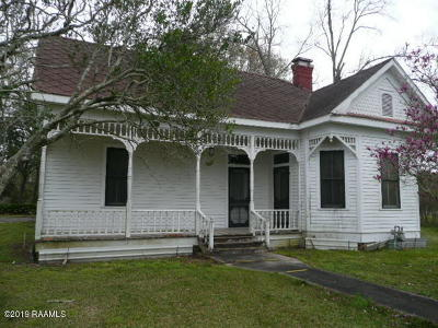 Opelousas Single Family Home For Sale: 6706 Hwy 31