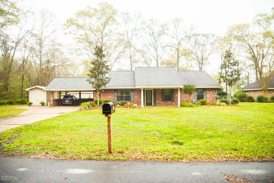 Ville Platte Single Family Home For Sale: 209 Oak Knoll Drive