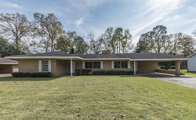 St Martinville, Breaux Bridge, Opelousas Single Family Home For Sale: 216 E Smiley Street