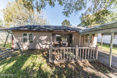 Abbeville  Single Family Home For Sale: 2003 Primeaux Street