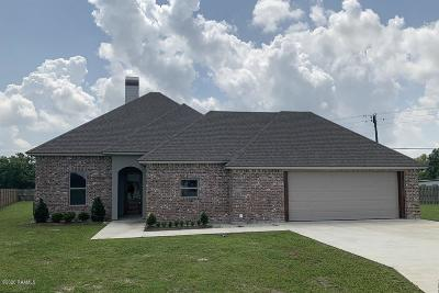 Breaux Bridge Single Family Home For Sale: 1013 Cassidy Circle