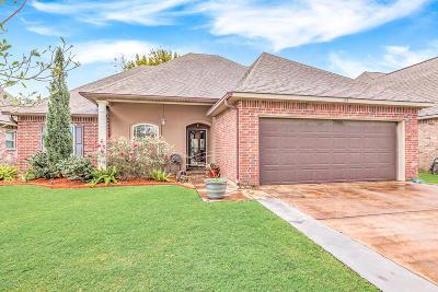 broussard Single Family Home For Sale: 107 Spanish Moss Lane