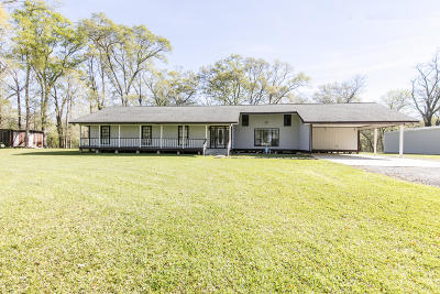 St. Martinville Single Family Home For Sale: 5917 Main Hwy.
