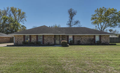 Carencro Single Family Home For Sale: 239 Saint Pierre Boulevard
