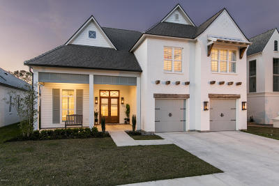 Single Family Home For Sale: 400 Amber Pond Lane
