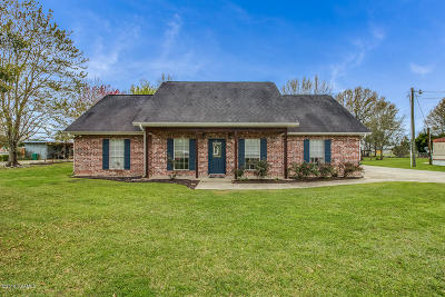 Breaux Bridge Single Family Home Active/Contingent: 1080 Rene O Guidry Road
