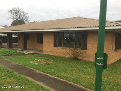 Jeanerette Single Family Home For Sale: 216 Pellerin Street