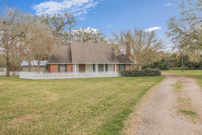 St. Martinville Single Family Home For Sale: 1115 Fontelieu Road