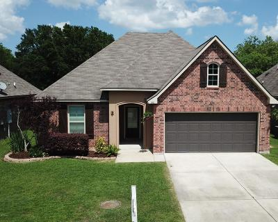 Carencro Single Family Home For Sale: 510 Magnolia Knee Drive