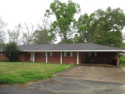 Ville Platte Single Family Home For Sale: 644 Scenic Drive