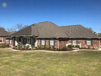 New Iberia Single Family Home For Sale: 2000 Squirrel Run Drive