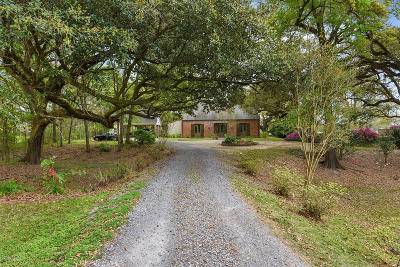 Abbeville Single Family Home For Sale: 8303 River Road