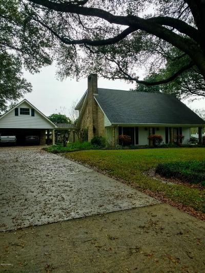 St Martinville, Breaux Bridge, Opelousas Single Family Home For Sale: 533 Sir Thomas Henry Drive Drive