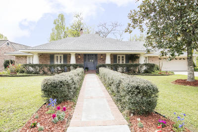 Lafayette Single Family Home For Sale: 110 Water Oaks Drive