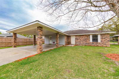 Opelousas Single Family Home For Sale: 2421 Herbert Drive