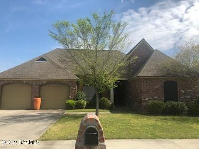 Lafayette  Single Family Home For Sale: 103 Hollow Green Drive