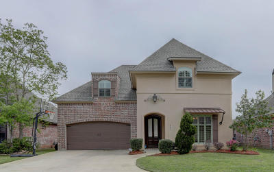 Youngsville Single Family Home For Sale: 321 La Villa Circle