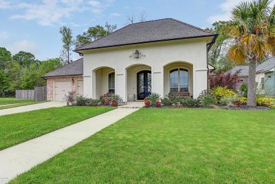 Lafayette LA Single Family Home For Sale: $405,000