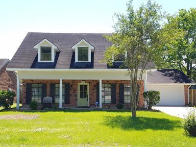 Lafayette LA Single Family Home For Sale: $286,000