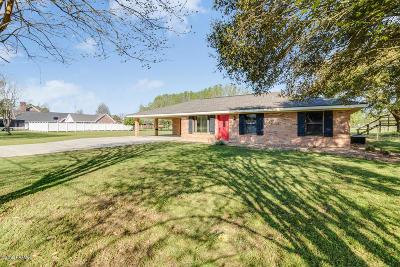 Breaux Bridge Single Family Home For Sale: 1117 Ruth Bridge Highway